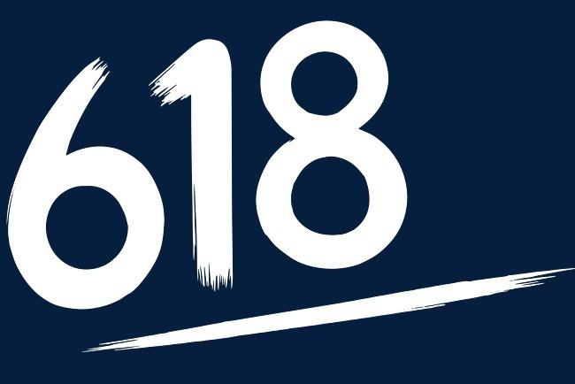 618白色字体设计字体下载_艺术字图片素材下载-字魂网